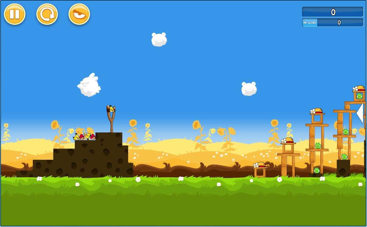 Les jeux flash c dent la place aux jeux en html5 pingl - Jeu info angry birds ...