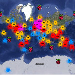 Brève | Rastrack, carte numérique mondiale des Raspberry Pi