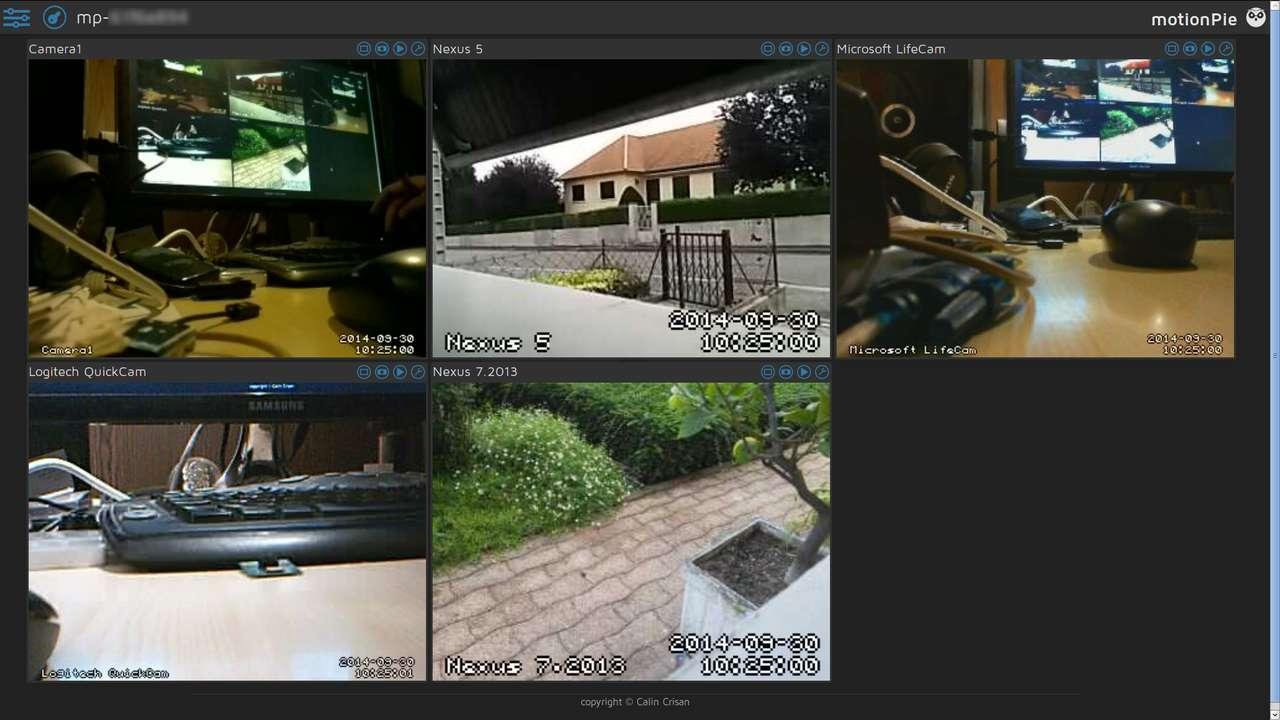 camera de surveillance bureau