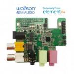 Raspberry Pi se dote d'une carte audio dédiée : Wolfson Audio Card