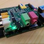Test de la carte Wolfson pour Raspberry Pi